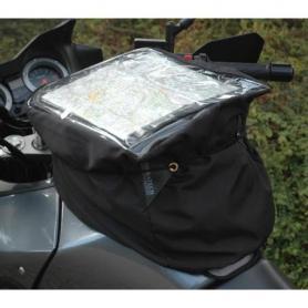 Bolsa sobredepósito universal con portamapas especial para lluvia
