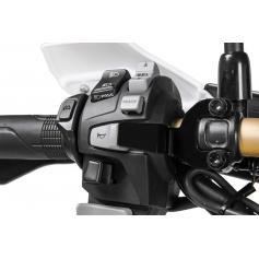 Protección de accionamiento fortuito de la bocina para Honda CRF1000L Africa Twin/ CRF1000L Adventure Sports
