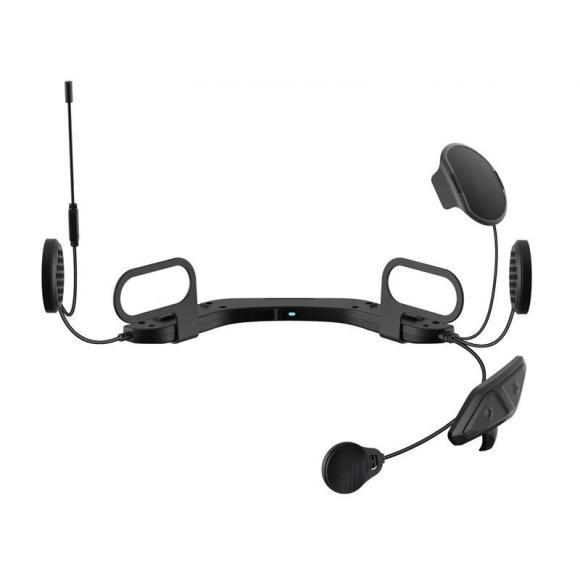 Sistema de comunicación Bluetooth Sena 10U para motos con control remoto en el manillar para cascos integrales Arai