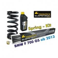 Muelles progresivos de intercambio Hyperpro para horquilla y tubo amortiguador,BMW F700GS *desde el año 2013*