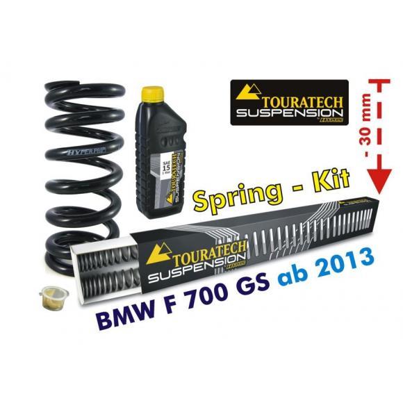 Ajuste de suspensión en -30mm BMW F700GS desde el año 2013 *muelles de intercambio*