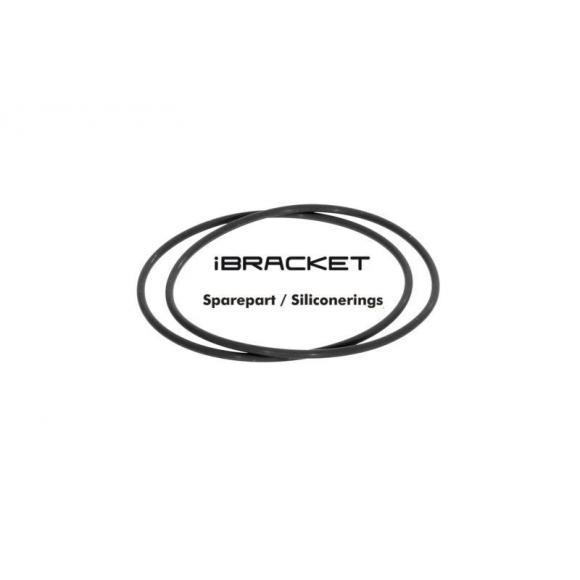 iBracket Pieza de recambio Silicon anillos (2 piezas)