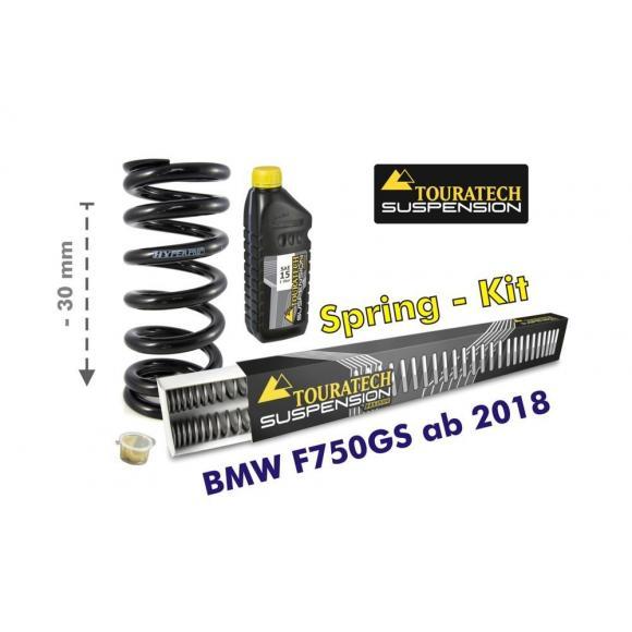 Ajuste de suspensión en 30mm BMW F750GS