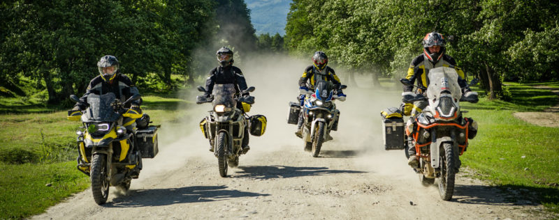 BMW, Africa Twin y KTM by Touratech