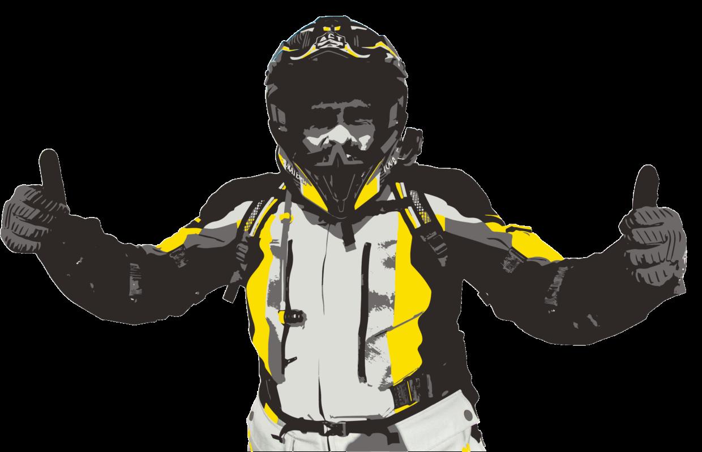 Ilustracion traje Compañero de Touratech