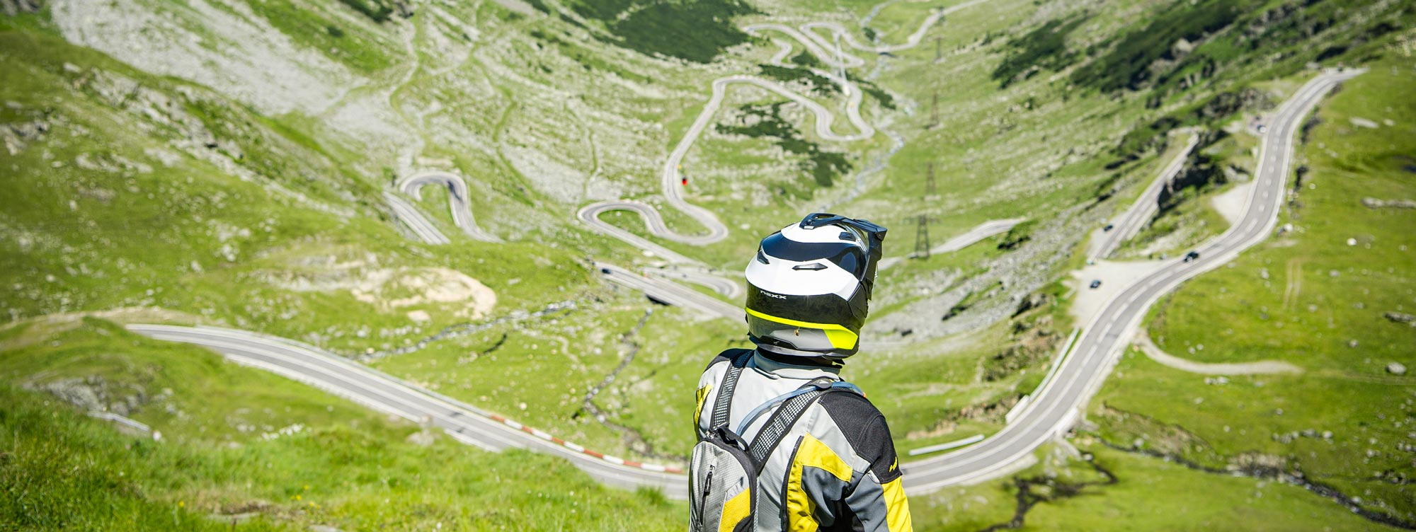 Panorámica de Rumanía en moto