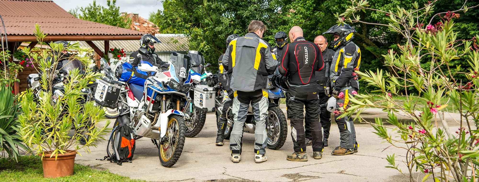 Prepara tu viaje en moto