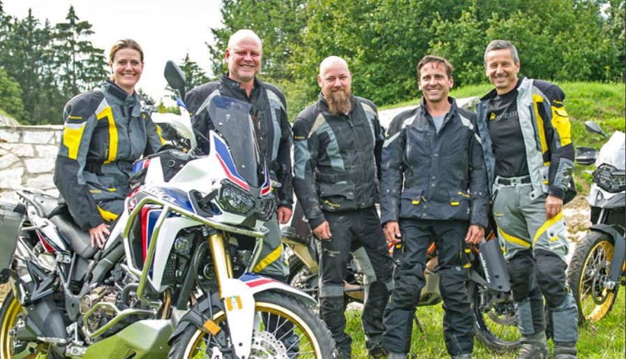 Equipo de Touratech en Alemania