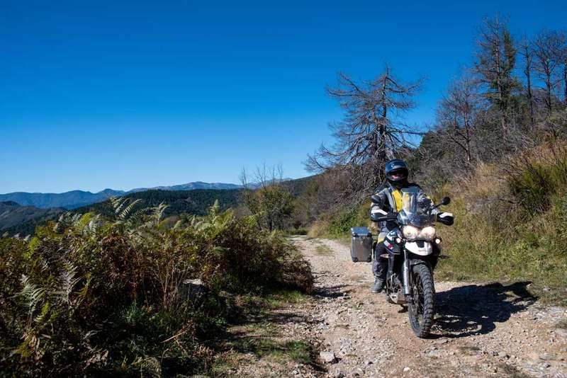 viaje en moto en Italia Liguria 1