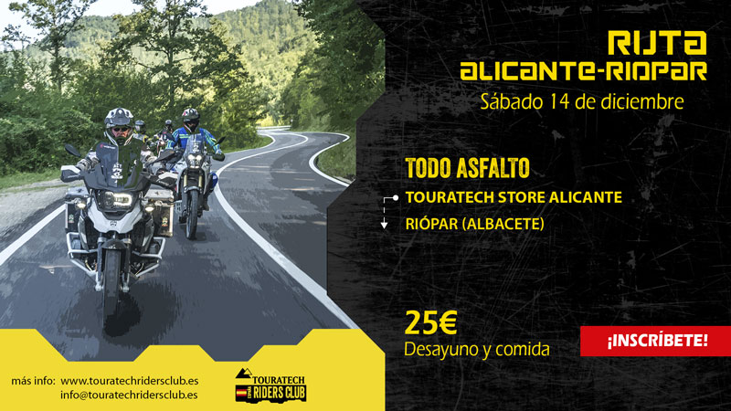Ruta Touratech Alicante - Riópar