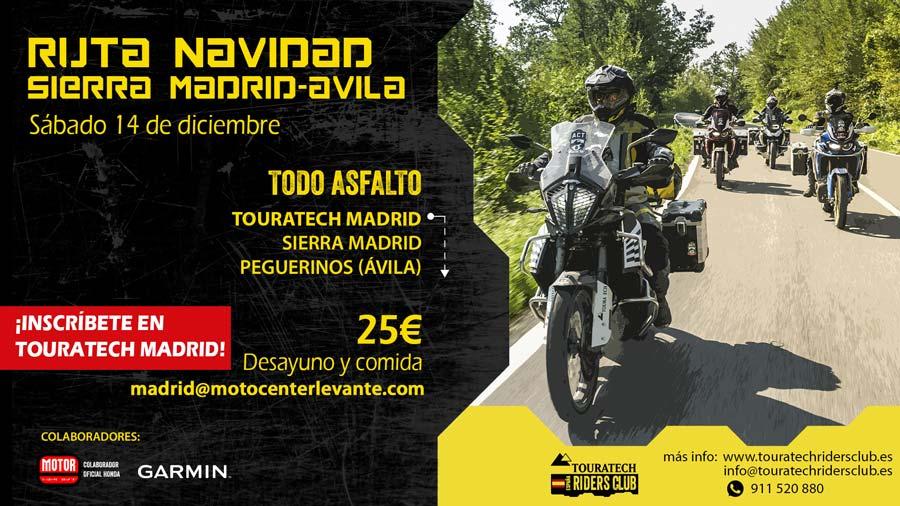Ruta Touratech Madrid Avila