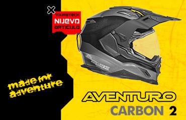 Casco Touratech Aventuro Carbon 2